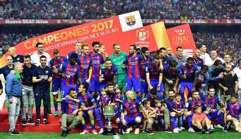 Calendario Copa del Rey 2017 / 2018   Fecha de la final