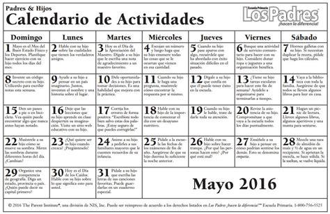 Calendario de Consejos para Padres – Parent pointers ...