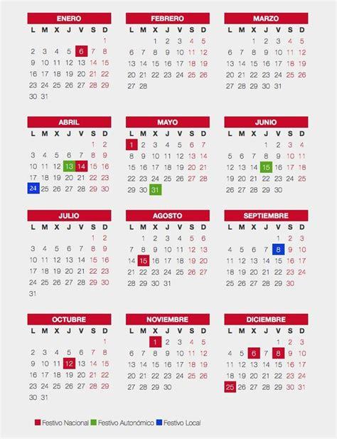Calendario de Festivos para Caudete en 2017 | Caudete ...