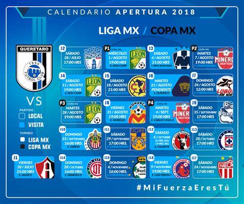 Calendario De La Liga Mx Clausura 2018 - Chungcuso3luongyen