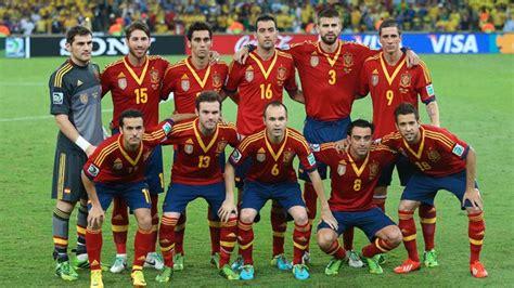 Calendario de los partidos de la selección Española de ...