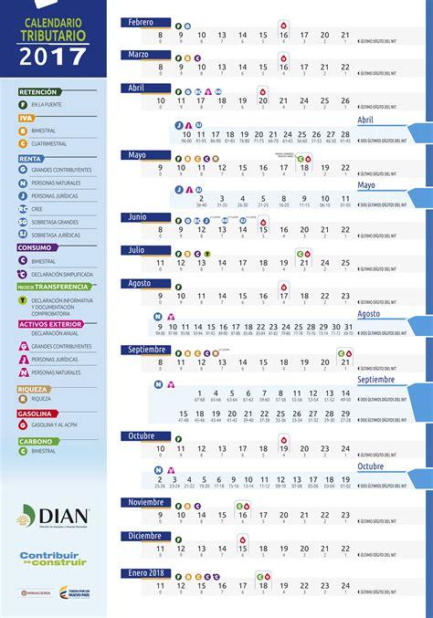 Calendario Declaracion De Renta 2016 Colombia | calendario ...