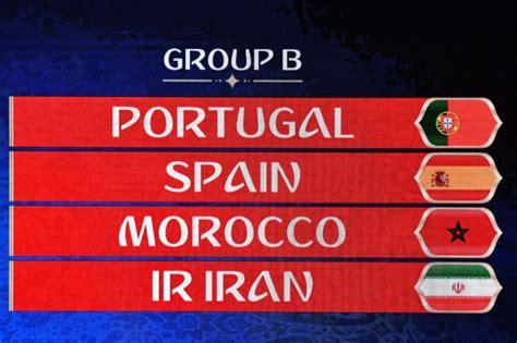 Calendario del Grupo B del Mundial de Rusia 2018, en el ...