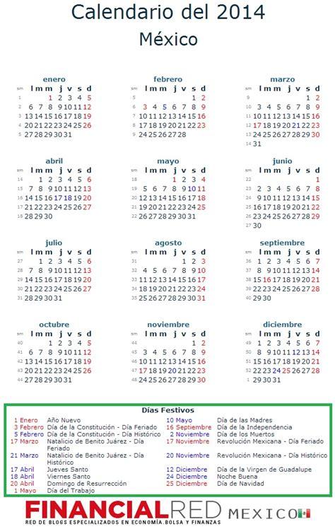 Calendario dias festivos mexico   Imagui