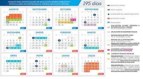 Calendario Escolar 2017-2018: Gobierno del Estado de ...