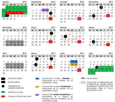 CALENDARIO ESCOLAR 2017 -2018