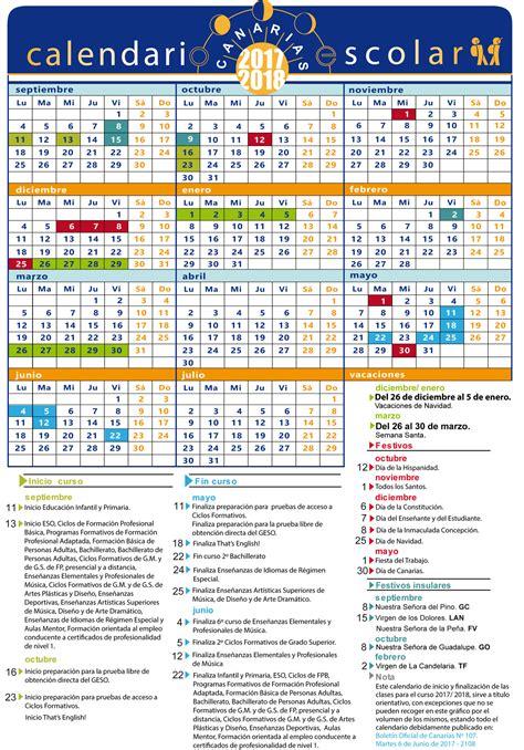 Calendario escolar | Centros | Consejería de Educación y ...