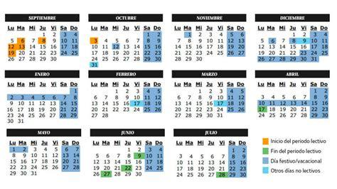 Calendario Escolar Comunidad De Madrid Curso 2016 2017 ...