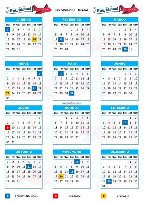 calendario feriados 2018 brasil - Resultados Yahoo Search ...