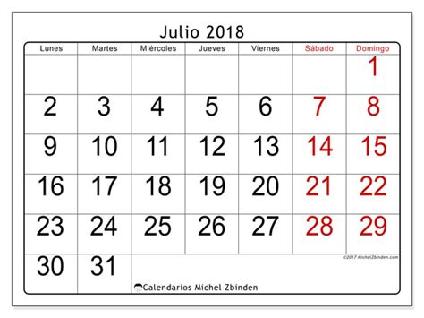 calendario julio agosto 2018   Jose.mulinohouse.co