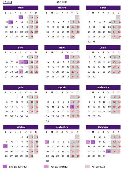 Calendario Laboral 2015 Aragón - deFinanzas.com