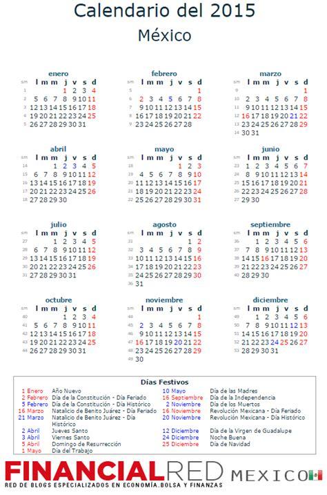 Calendario laboral 2015   La Economia