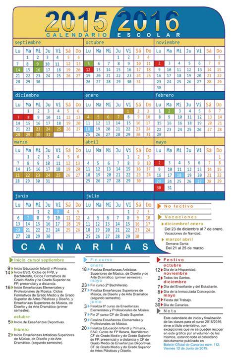 Calendario Laboral 2016   Islas Canarias   Blog de Opcionis