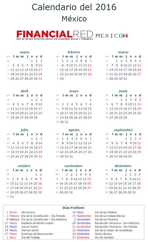 Calendario Laboral 2016   La Economia
