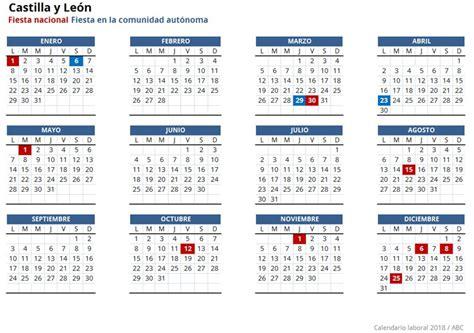 Calendario Laboral 2018 | Cursos.com