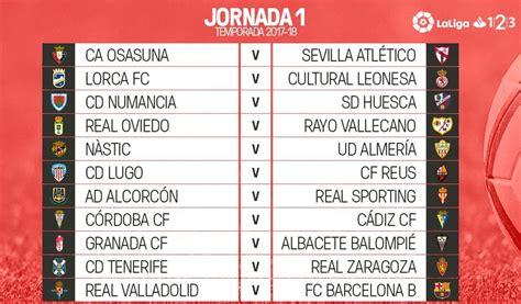 Calendario LaLiga 1,2,3 | Fechas y Jornadas