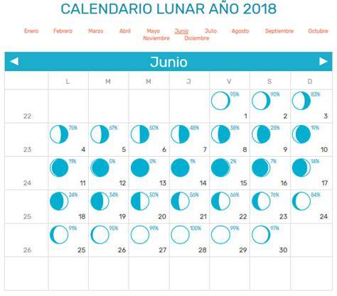 Calendario Lunar 2018   Calendario 2018