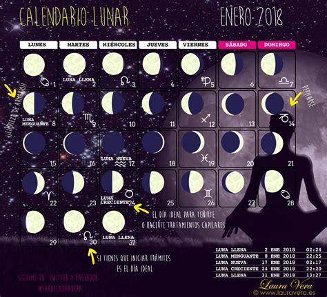 Calendario Lunar Enero ⋆ Laura Vera · Blog Oficial