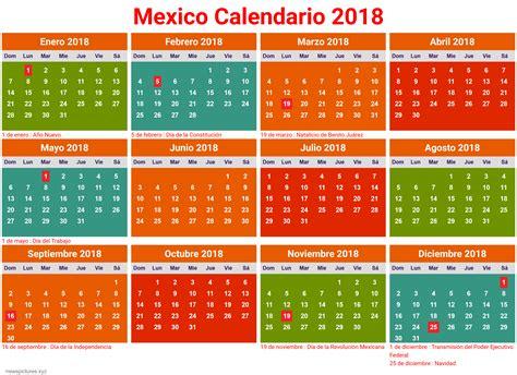 calendario mexico 2018 dias festivos   newspictures.xyz