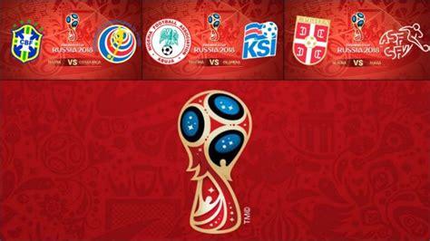 Calendario Mundial 2018: Horario de los partidos de hoy ...