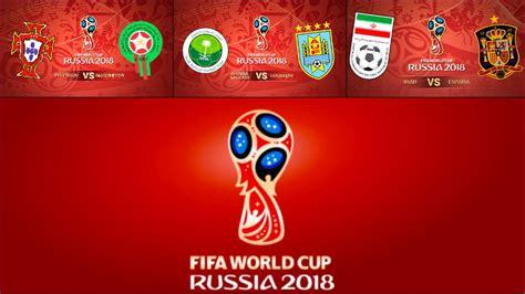 Calendario Mundial 2018: Horario y dónde ver los partidos ...