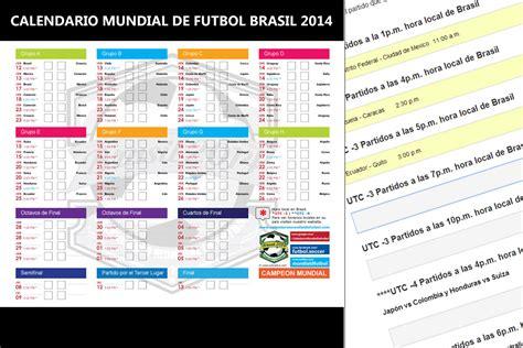 Calendario Mundial Fifa Rusia 2018 PDF