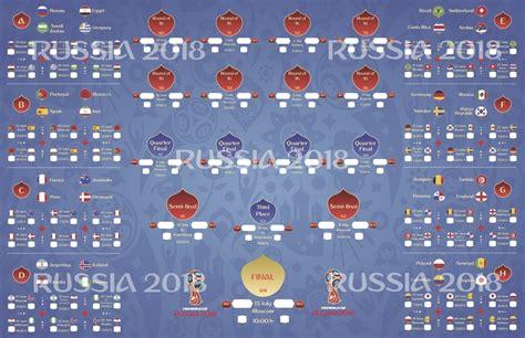 Calendario Mundial Rusia 2018 - $ 99.00 en Mercado Libre