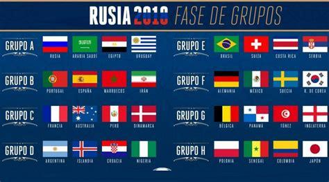 Calendario Mundial Rusia 2018   Fixture completo FIFA ...