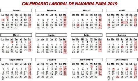 Calendario oficial de fiestas laborales para 2019 en ...