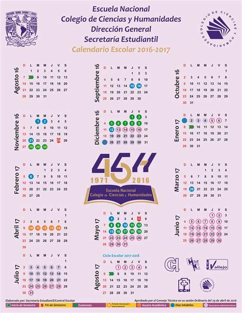 Calendario | Portal Académico del CCH
