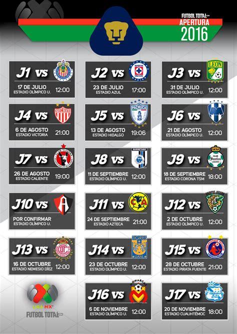 Calendario Pumas 2016   Calendar Template 2018