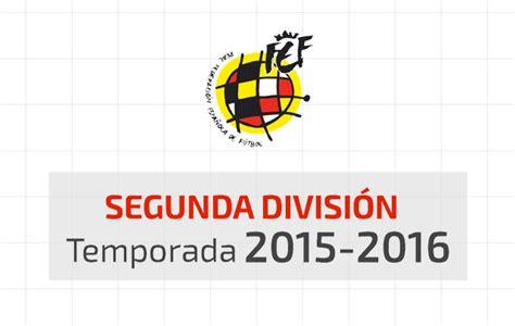 Calendario Segunda División 2015/2016 Liga Adelante ...