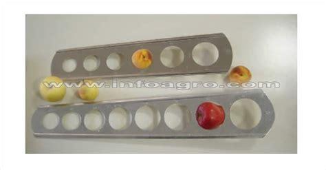 Calibre para melocotones, nectarinas, duraznos. Diámetro ...