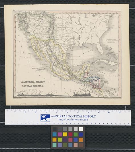 California, Mexico, and Central America. - Side 1 of 2 ...