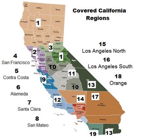 California Plan Region Map   California Health News