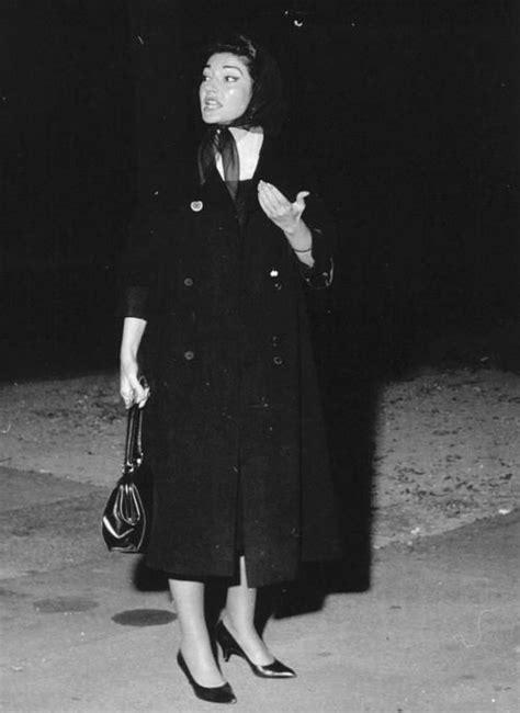 Callas has a temper tantrum, 1959 | La Divina Maria Callas ...
