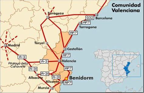Callejero de Benidorm Código postal 3501