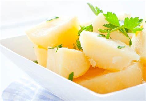 Calorías patatas cocidas ¿Cuántas tiene?