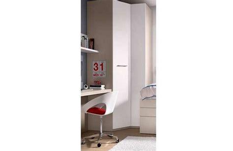 Cama compacta juvenil, armario esquinero y escritorio