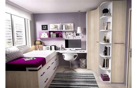 Cama compacta y nido, armario esquinero con estantes ...