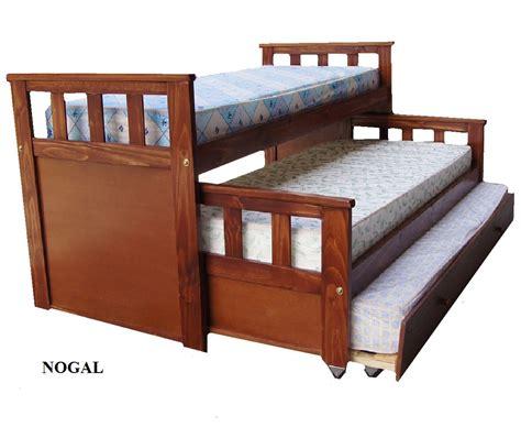 cama nido de Cipres Lustrada   Amoblamientos AS   Venta ...