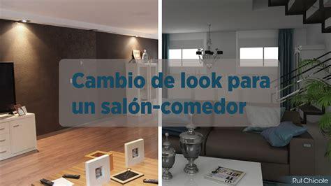 Cambio de look para un salón comedor; Proyecto de ...