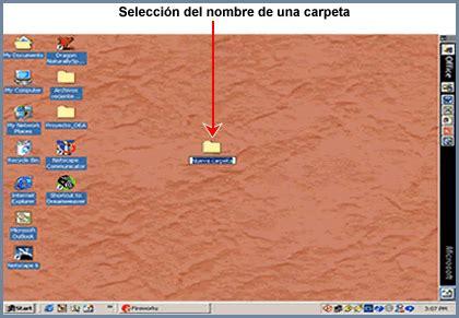 Cambio de nombre de una carpeta o archivo en Windows