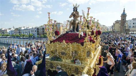 Cambios en el programa de la Semana Santa de Sevilla 2018