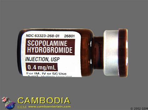 Cambodia Drugs Scopolamine