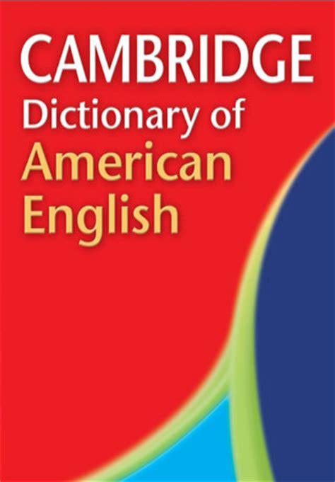 Cambridge Dictionary of American English App for iPad