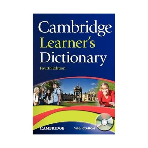 Cambridge Learner's Dictionary with CD-ROM - English Wooks
