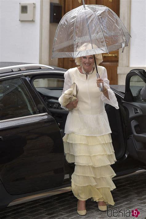 Camilla de Cornualles durante la boda de Alejandro Santo ...