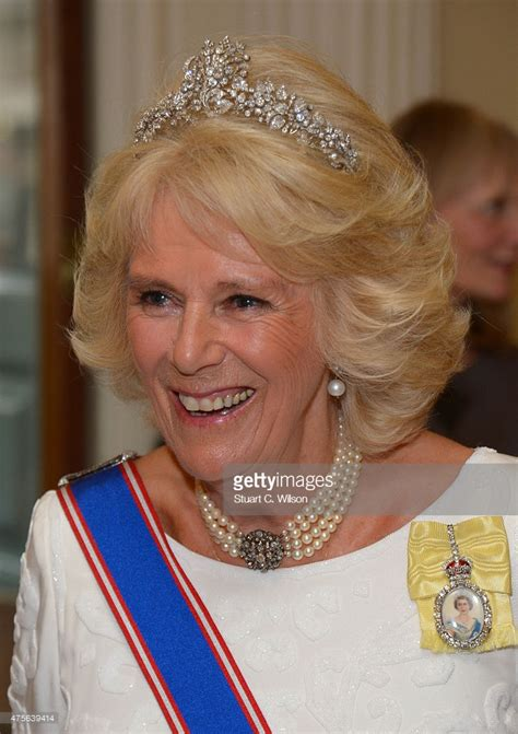 Camilla, Duchess Of Cornwall attends the Royal Academy ...