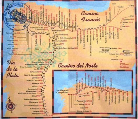 Camino de Santiago Maps & Stages